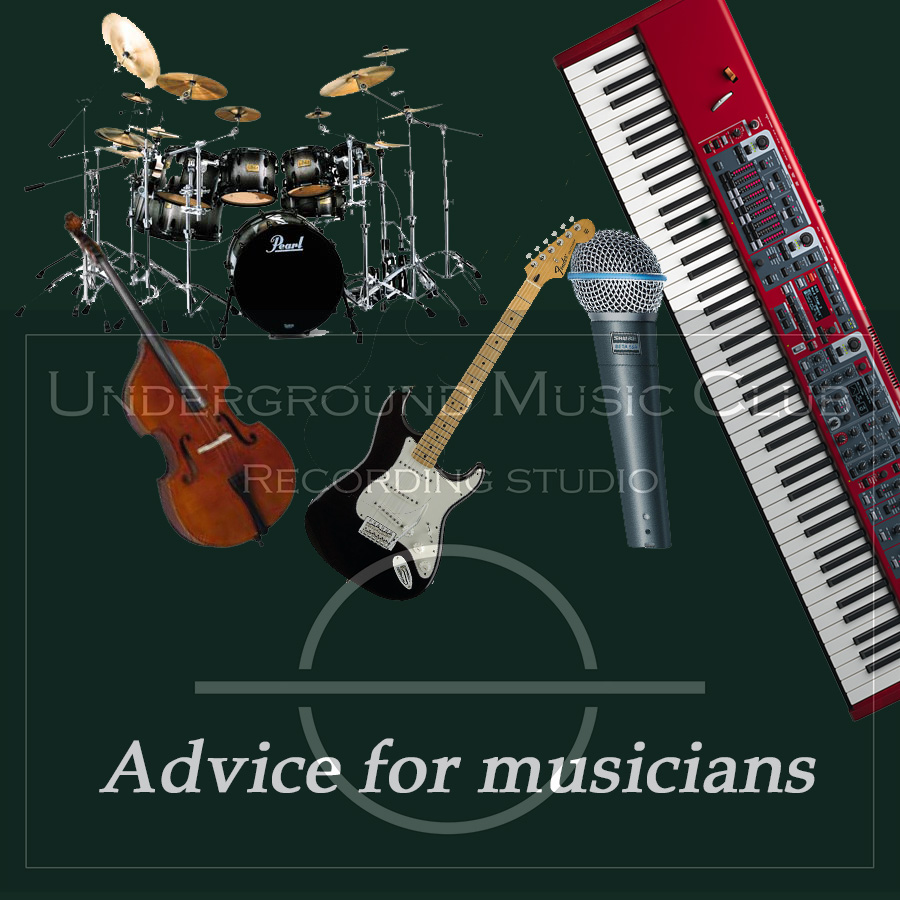 Advice For Musicians P. 08 Consigli per i batteristi.