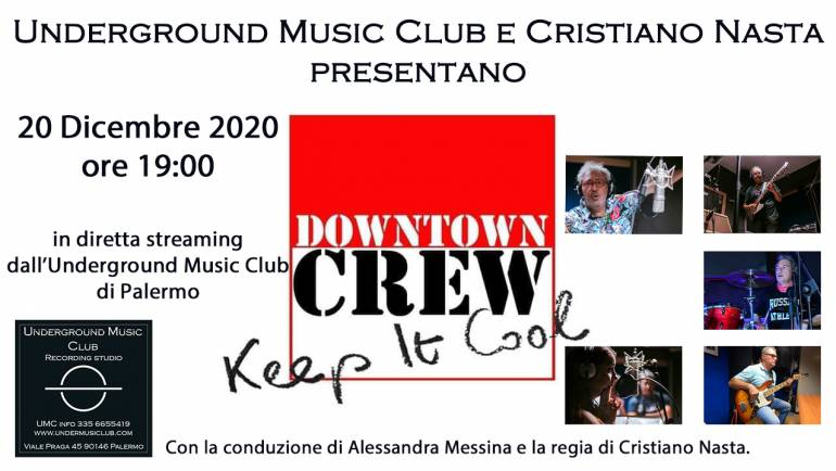 Downtown Crew dal vivo all'Underground Music Club